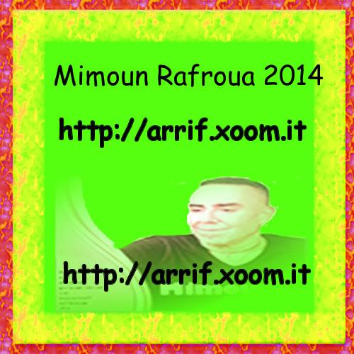 mimoun rafroua 2014